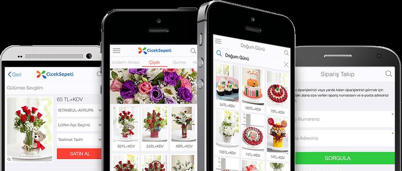 CicekSepeti.com Mobil Uygulamaları