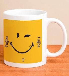 Kişiye Özel Smiley Şans Kupası