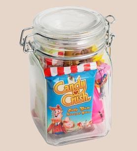 Kişiye Özel Candy Crush Şeker Kavanozu