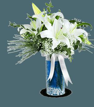 Su Perisi Beyaz Lilyum