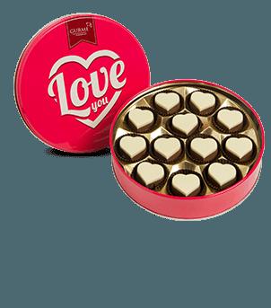 Seni Seviyorum Kalp Çikolata